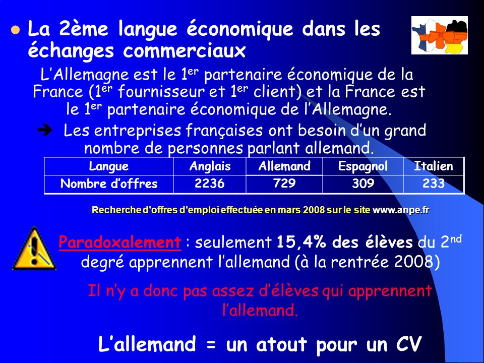 cv degre de langue