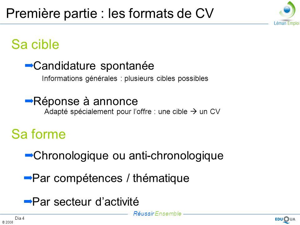 cv par competences ou cv chronologique