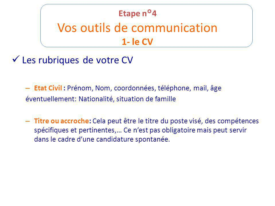 competence cv verbe