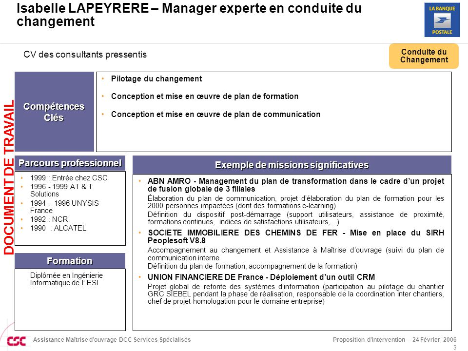 exemple cv consultant crm