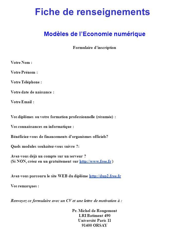 outils numerique cv informatique