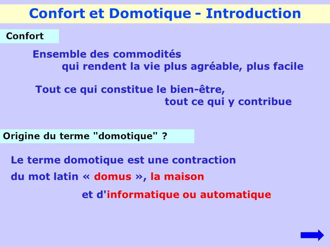 Domotique Facile Confort Et Domotique Introduction Ppt Video Online