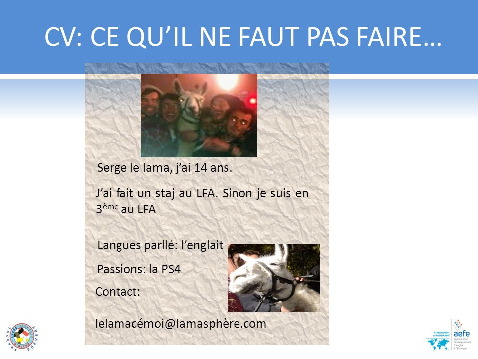 activites extra scolaires exemple cv