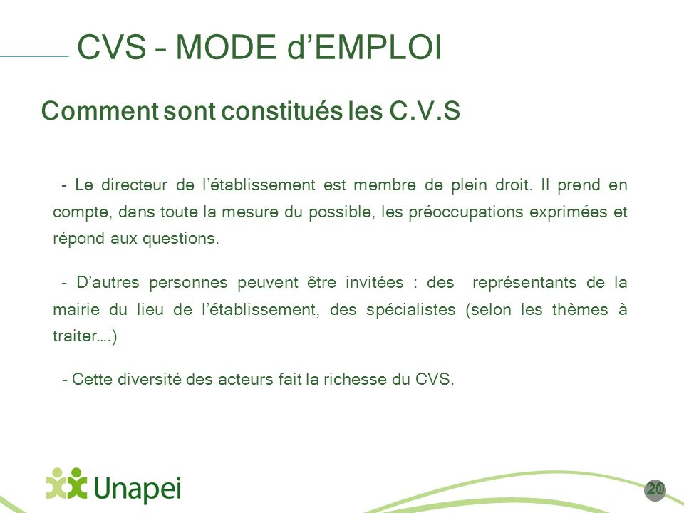 exemple de reglement interieur du cvs