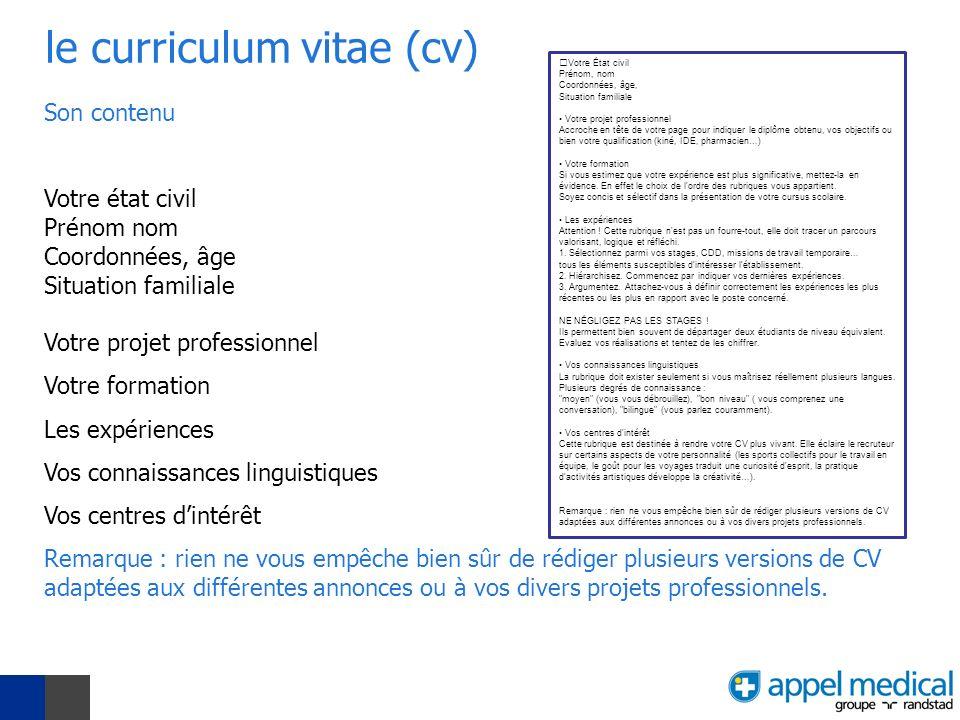qualification et competence cv que mettre