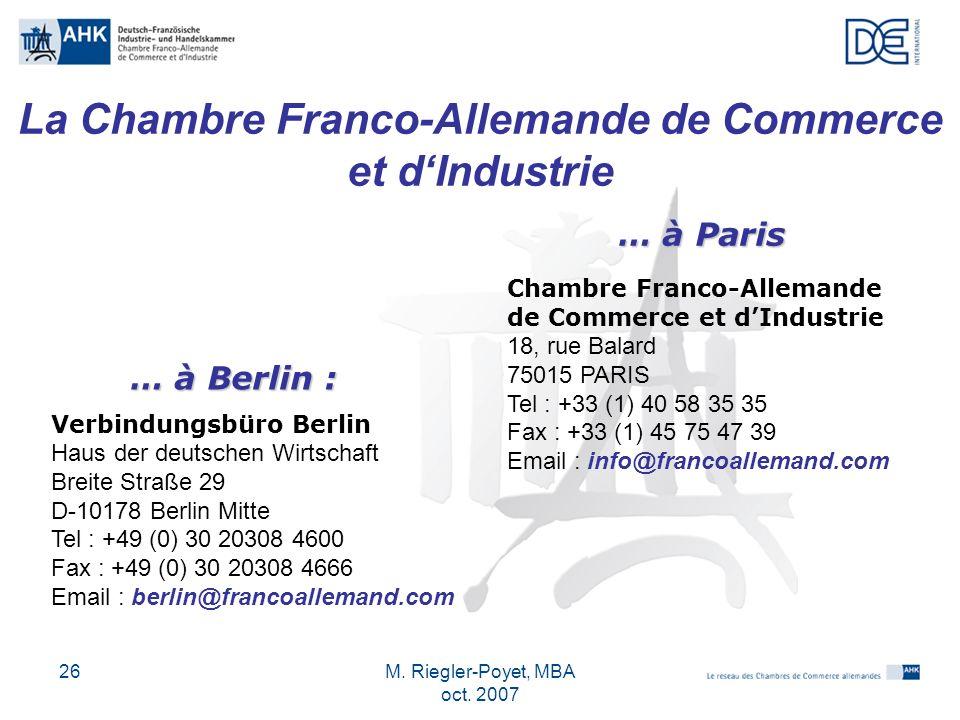 Chambre Franco-Allemande de Commerce et d\u0027Industrie - ppt télécharger - Chambre De Commerce Franco Allemande