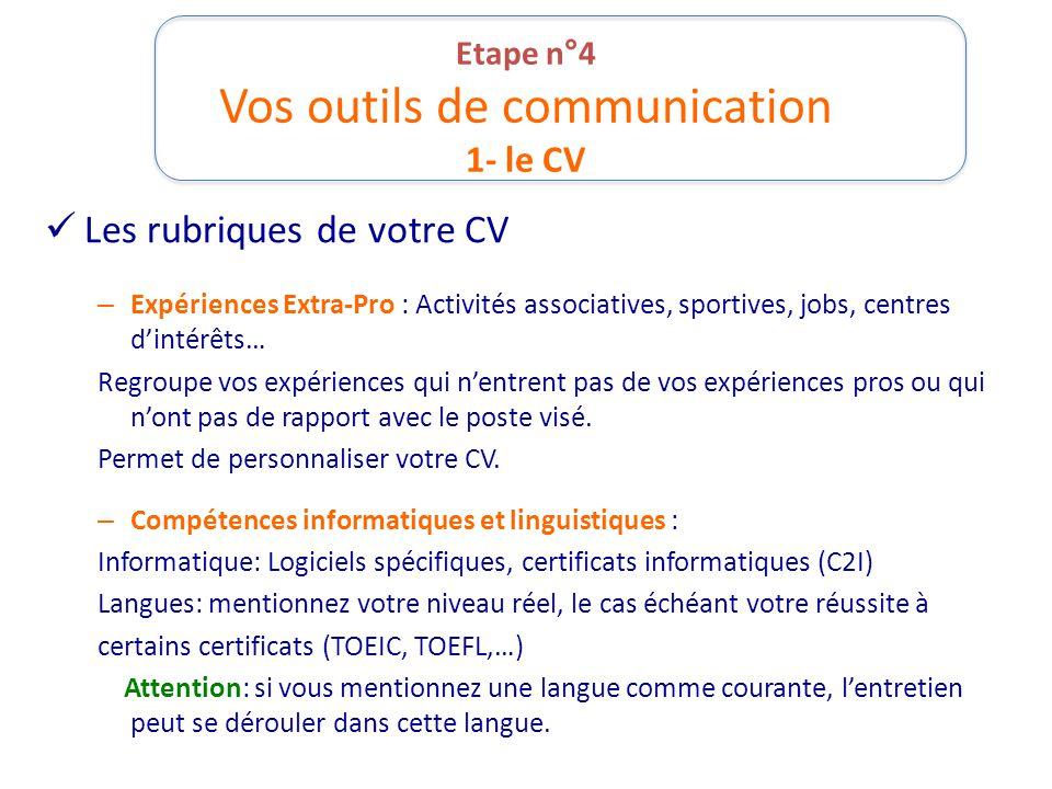 competences cles cv communication