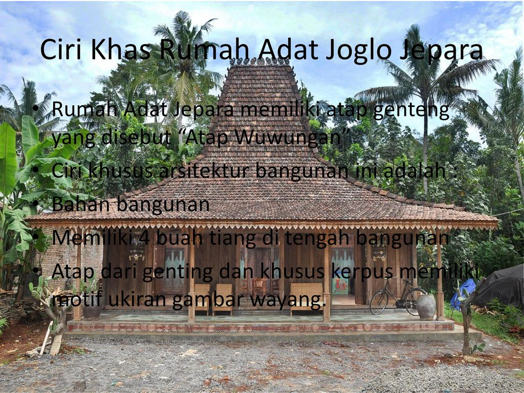 Motif Atap Joglo Jepara Ppt Download