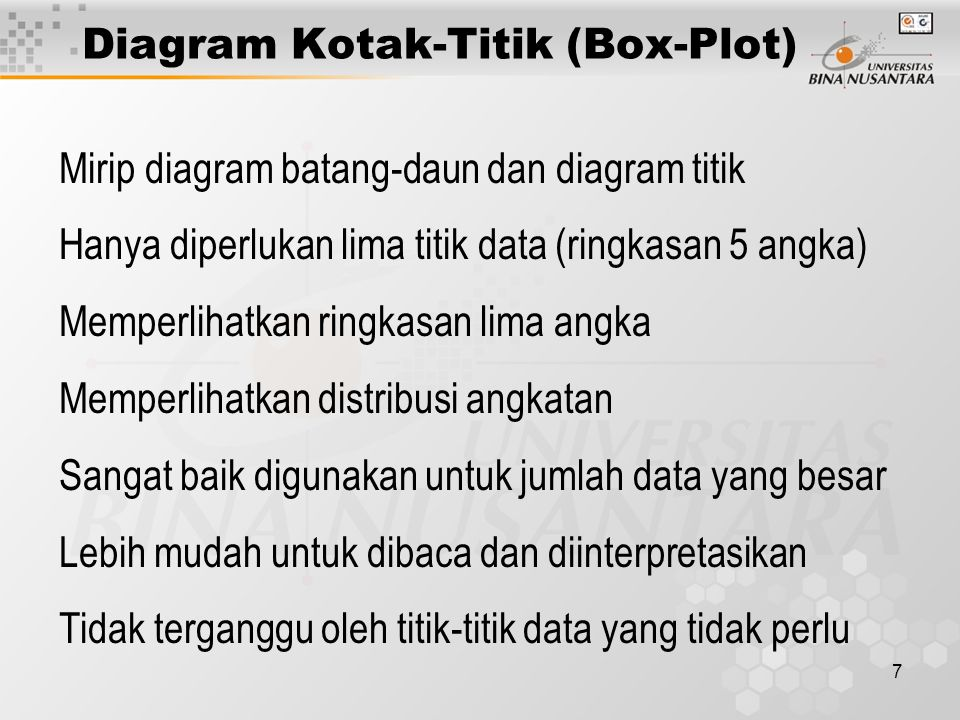 Diagram Kotak-titik (box-plot) - ppt download