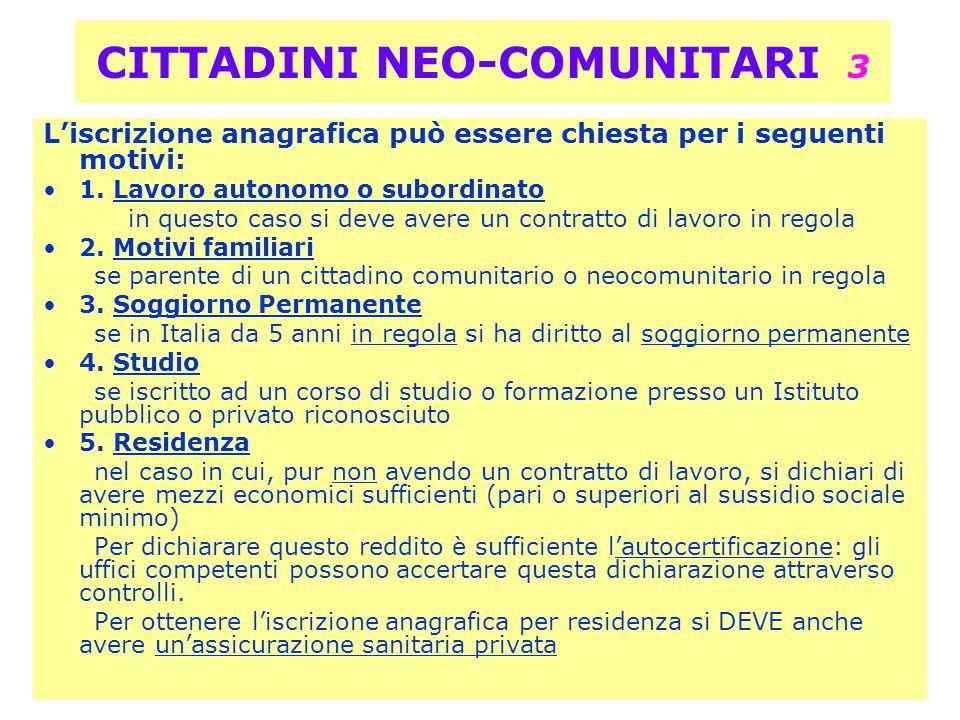 Soggiorno In Italia Di Cittadini Comunitari | Rosalba Bove D\'agata ...