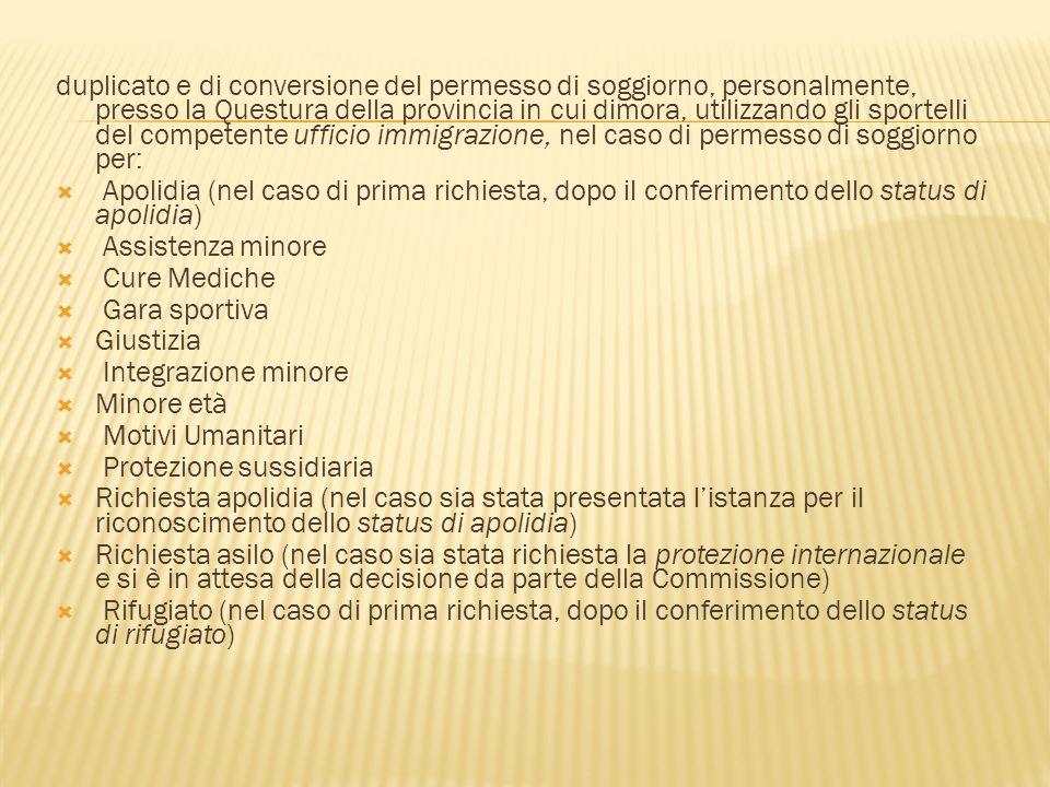 Permesso Di Soggiorno Italia Costi | Working Class Heroes ...