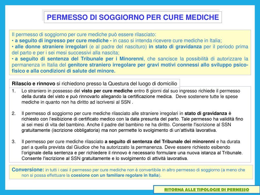 Emejing Permessi Di Soggiorno Online Contemporary - House ...