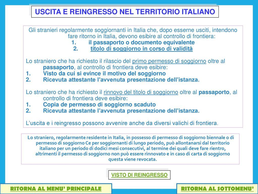 Permesso Di Soggiorno Per Motivi Familiari Cittadino Italiano ...