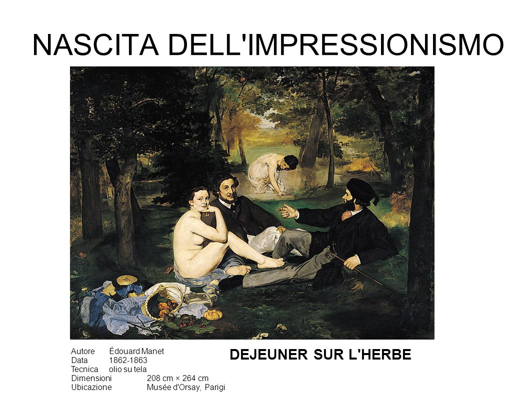 Video Pittura Impressionista Nascita Dell Impressionismo