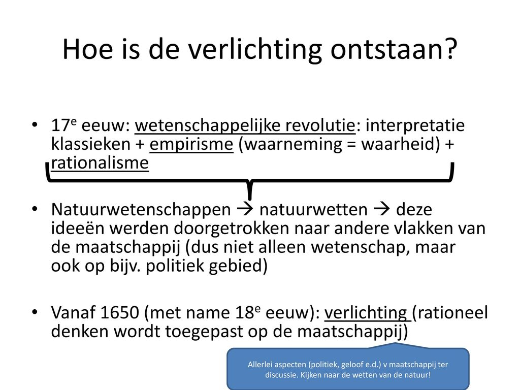 Renaissance Verlichting Paragraaf 8 1 De Verlichting Ppt Video Online Download