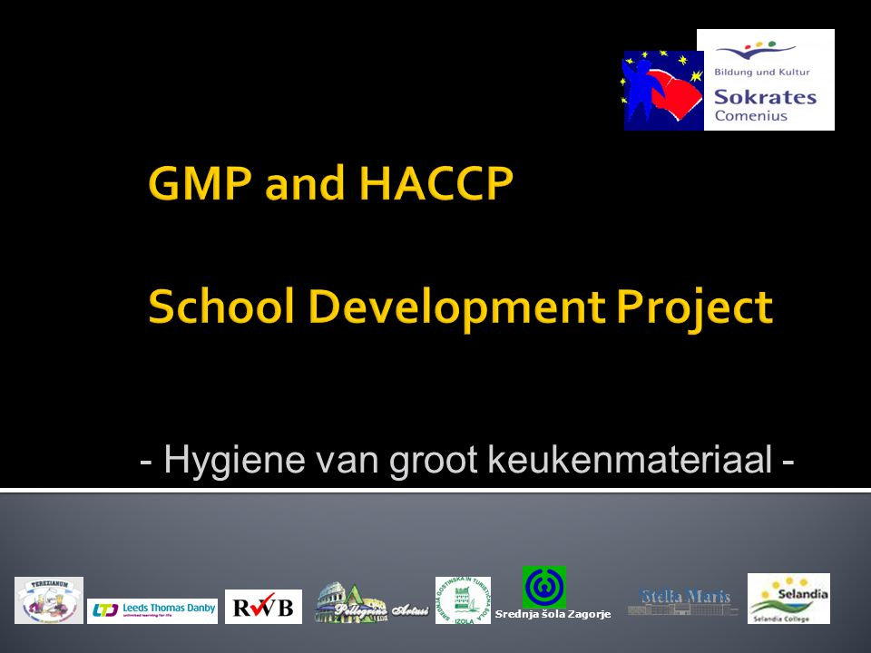 Keuken Vleessnijmachine Gmp And Haccp School Development Project - Ppt Download