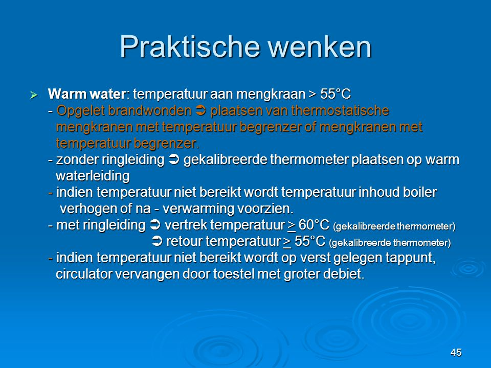 Perlator Vervangen Legionella: De Regelgeving. - Ppt Video Online Download