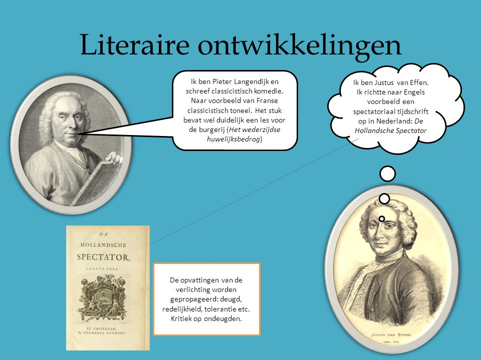 Verlichting Literatuurgeschiedenis Nederlandse Literatuur - Ppt Video Online Download