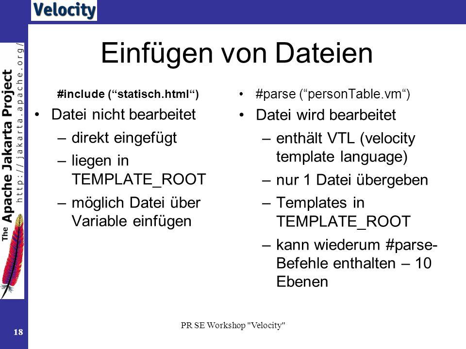 Apache Velocity Engine Developer Guide - mandegarinfo