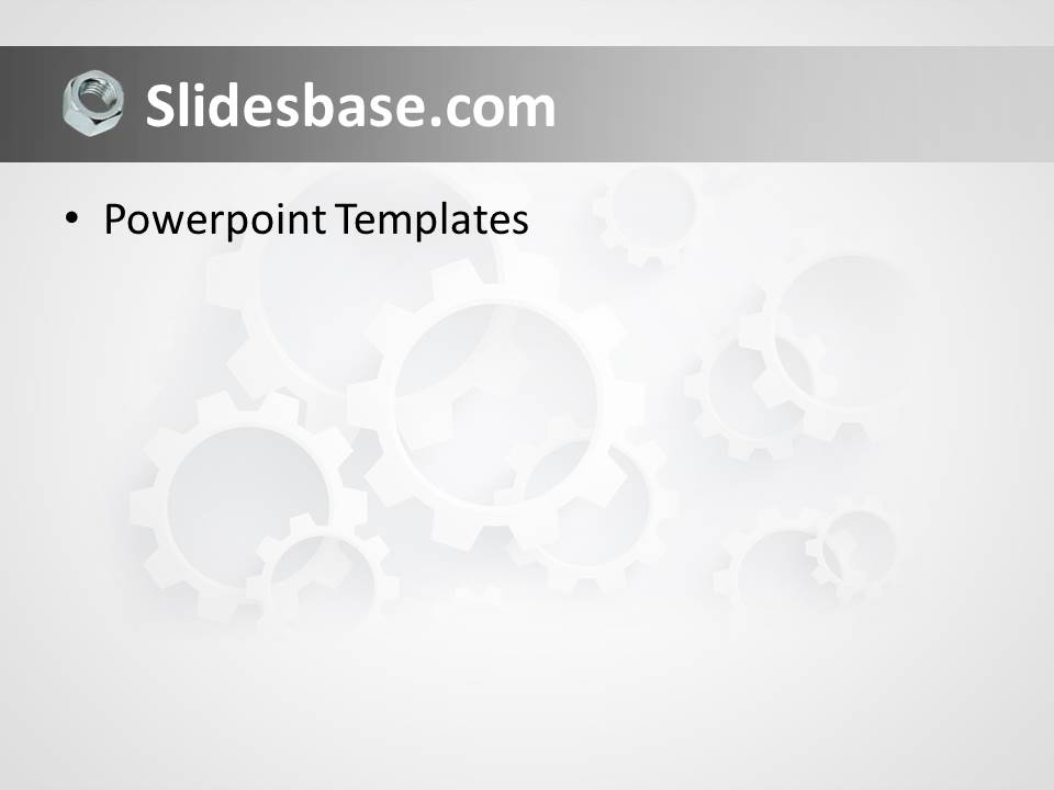 Mechanical Engineering Powerpoint Template Slidesbase
