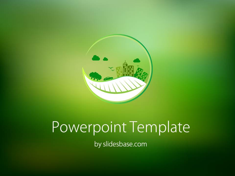 Fall Wallpaper Photos Microsoft Eco Powerpoint Template Slidesbase