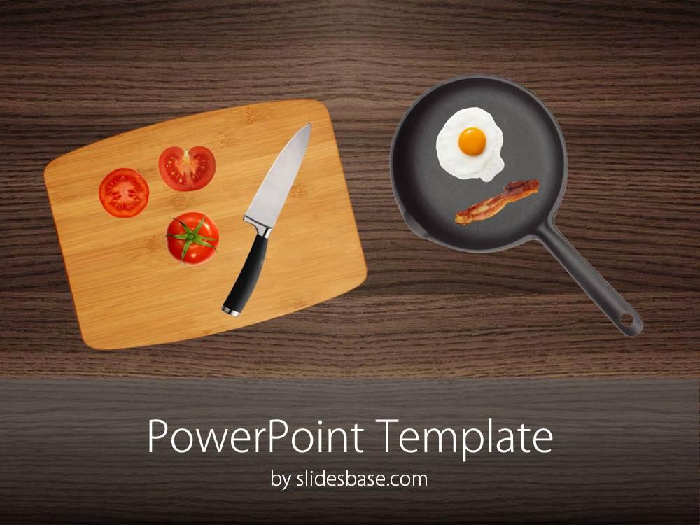 Kitchen Table PowerPoint Table Slidesbase