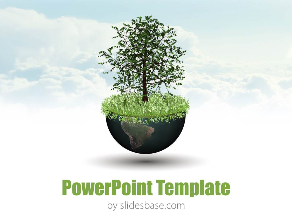 3d nature powerpoint Slidesbase