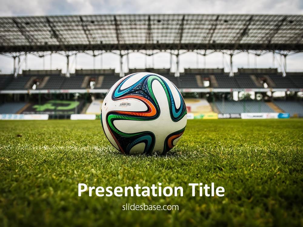 Soccer PowerPoint Template Slidesbase