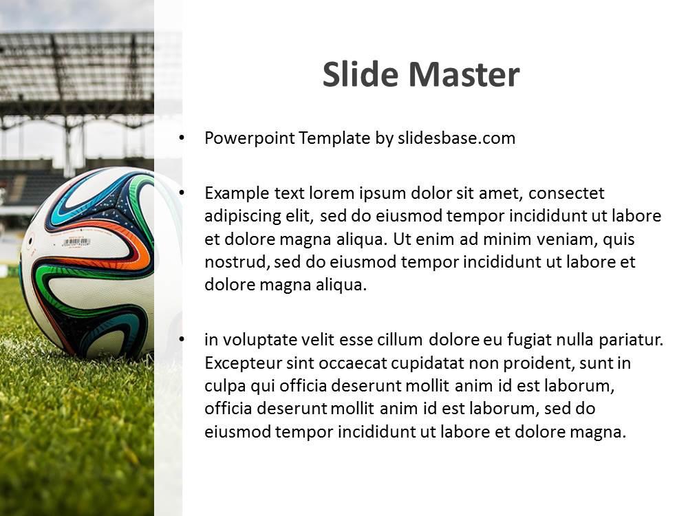 Soccer PowerPoint Template Slidesbase - football powerpoint template