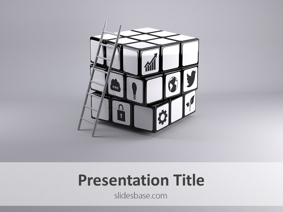 Business Solution \u2013 PowerPoint Template Slidesbase