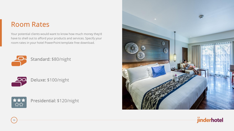 hotel premium powerpoint template