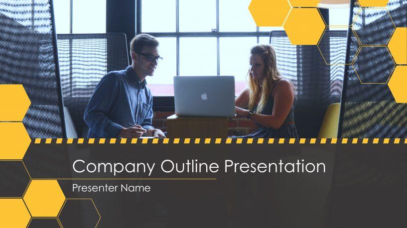 Honeycomb Business PowerPoint Presentation Slide Design SlideStore