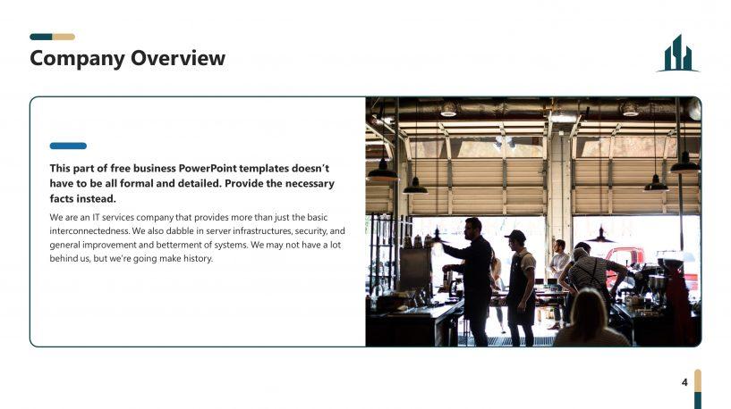 Business Service Plan Premium PowerPoint Template u2013 SlideStore - service plan templates