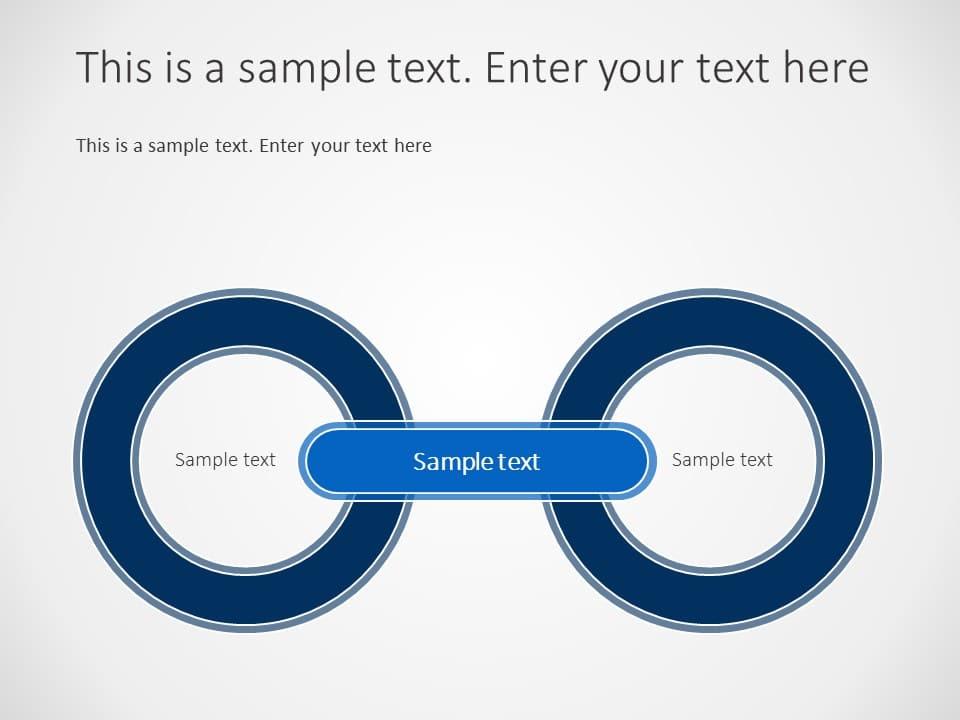 2 Circles Business Values Powerpoint Template - SlideUpLift