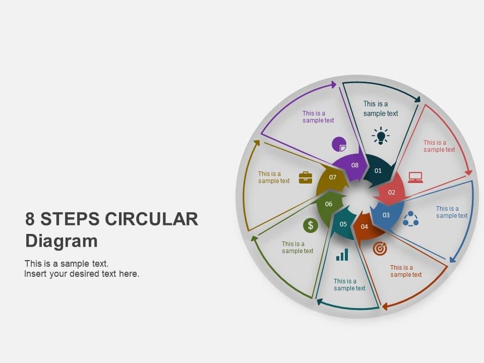 8 Step Business Process Powerpoint Template - SlideUpLift