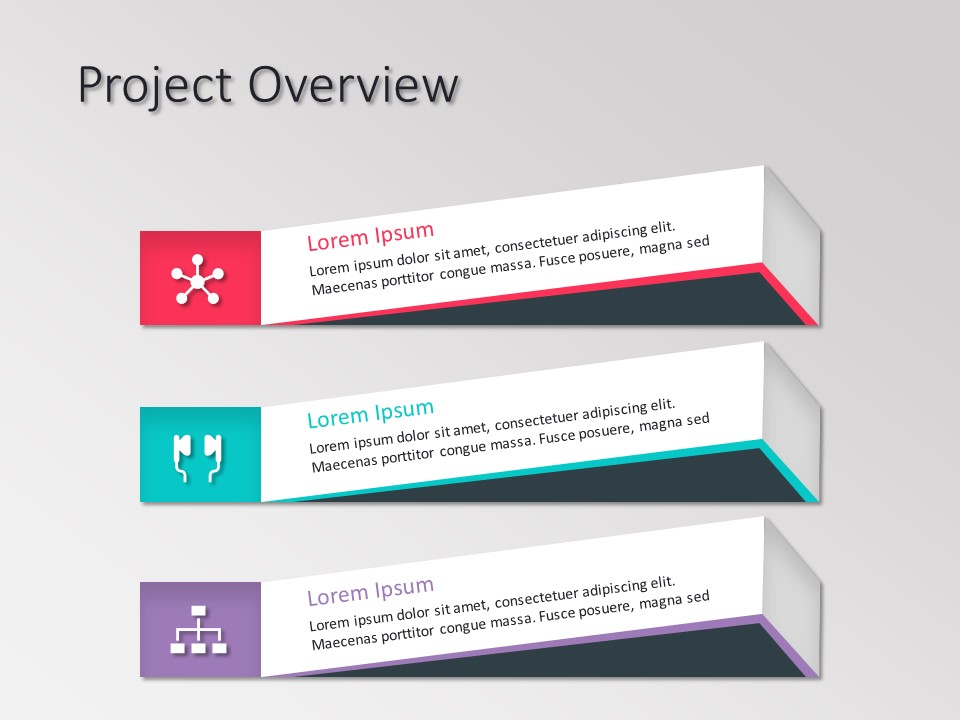 Project Overview Powerpoint Template - SlideUpLift