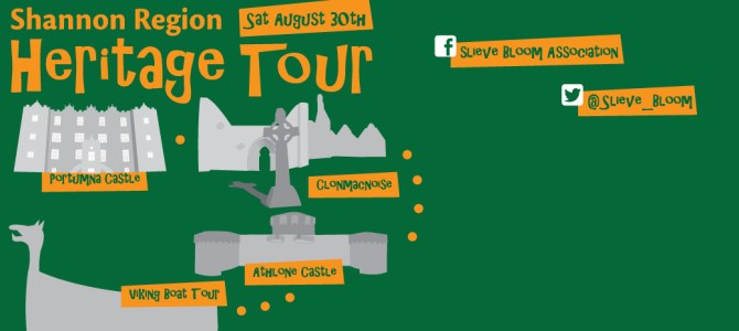 Shannon Region Heritage Tour – Slieve Bloom Association Annual Outing 2014