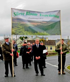 Johnny Rigney, Chairman, under the Slieve Bloom Association banner