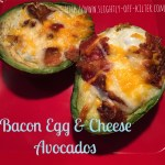 Bacon Egg & Cheese Avocados
