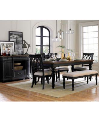Durango 7 Piece Dining Room Furniture Set - Furniture - Macyu0027s - 7 piece living room set
