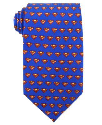 DC Comics Tie, Superman Logo