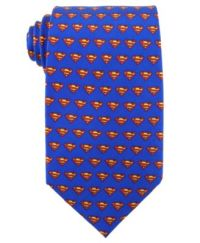 DC Comics Tie, Superman Logo - Ties & Pocket Squares - Men ...
