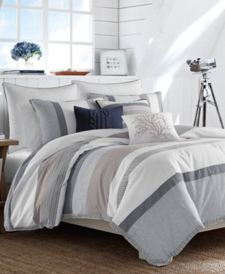 Closeout Nautica Tideway Bedding Collection Bedding