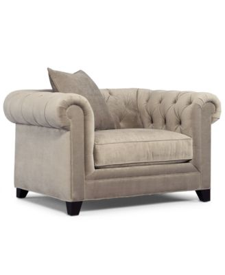 Martha Stewart Collection Saybridge Living Room Chair - Furniture