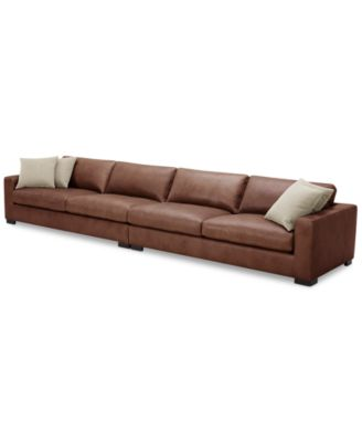 Furniture Chelby 2 Pc Leather Sofa Reviews Furniture