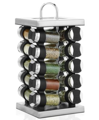 Martha Stewart Collection Square Stainless Steel Spice