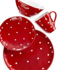 Maxwell & Williams Sprinkle Red 4-Piece Place Setting ...