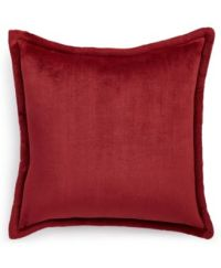 """Charter Club Cozy Plush 20"""" Square Decorative Pillow, Only ..."""