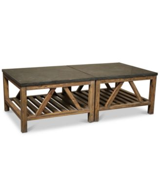 Furniture Breslin Bluestone Table Furniture Collection  Reviews