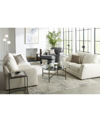 Furniture Jaspene 91 Quot Leather Sofa Created For Macy 39 S